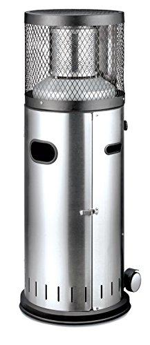 Enders Terrassenheizer Gas POLO 20 Gas-Heizstrahler 5460 Terrassenstrahler mit stufenloser Regulierung ENDUR Reflektionssystem Transporträder Umkippsicherung