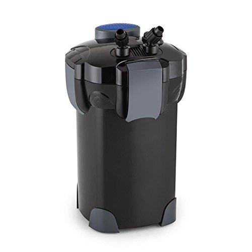 Waldbeck Clearflow 35 • Aquarium Außenfilter • für Aquarien bis 700 Liter Kapazität • 35 Watt Pumpenmotor • 3-Stufen-Filter • Wasser-Durchstrom bis zu 1400 LiterSt • 2 x Schlauch von 16 m