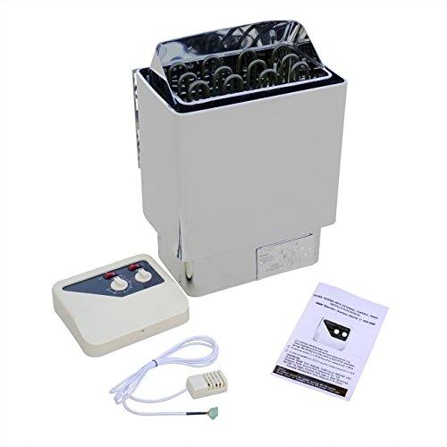 ECO-WORTHY 6 kW Elektroheizung Sauna Ofen wController Home Sauna Raum Bad Dusche Spa