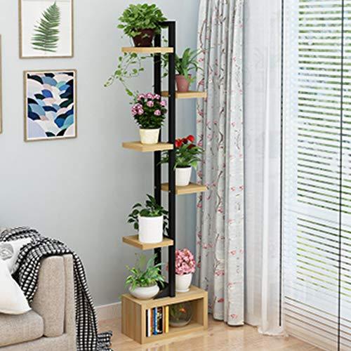 SBS Blumenständer Blumenregal Blumen Rack Aus Massivholz Wohnzimmer Blumenständer Multi-Layer-Indoor-Orchidee Standfuß Balkon Blumentopf RegalE