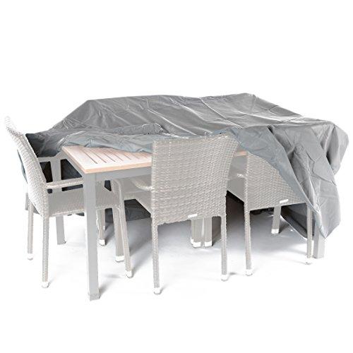 Ultranatura Gewebeschutzhülle für Gartenmöbel Sylt robuste Abdeckung aus wasserdichtem Polyester ca 235 x 135 x 94 cm