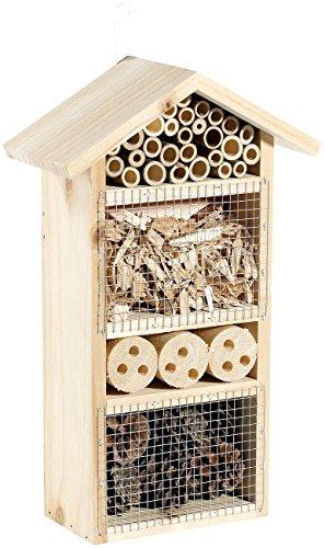 Royal Gardineer Insekten-Haus Insektenhotel Flora - Nistkasten für Nützlinge Insekten Nistkästen