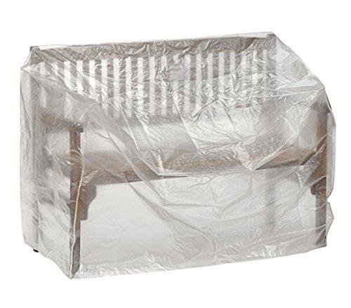 Dehner Gute Wahl Schutzhülle für Gartenbank ca 160 x 75 x 78 cm Polyethylen transparent