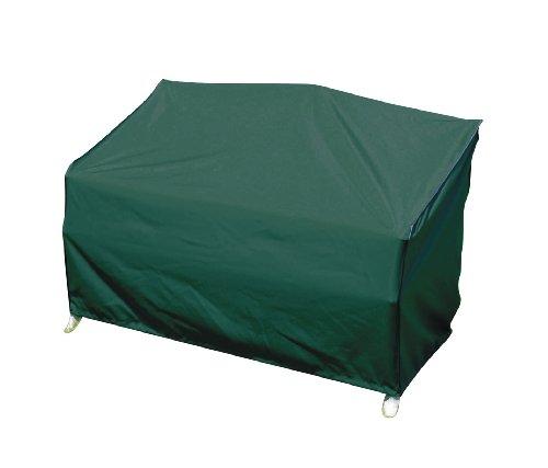 greemotion Schutzhülle für Gartenbank grün winterfeste Gartenmöbelabdeckung schmutzabweisende Regenschutzhülle wasserabweisende Wetterschutz-Hülle Wetterschutzhaube mit Zugband