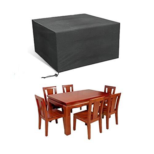 JIMS STORE Gartenmöbel Abdeckung Möbel Schutzhülle Abdeckhaube Rechteckig Wasserdicht Schutzhülle für Gartenmöbel 213  132  74cm