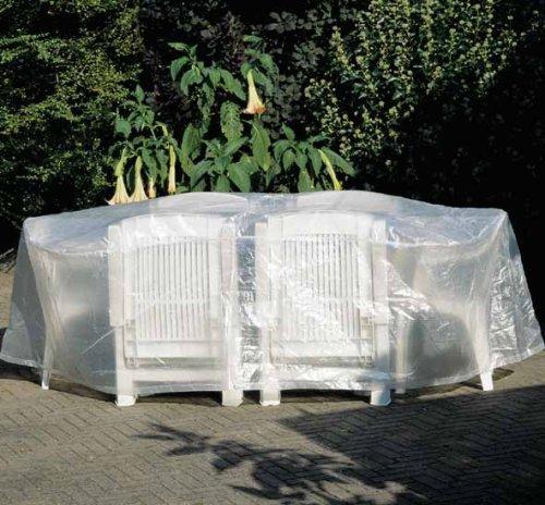 Garden-Joker - 454 136 Schutzhülle Hülle Abdeckung für Sitzgruppe oval