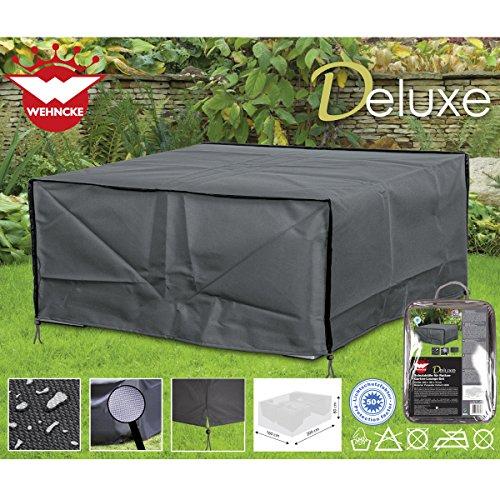 Deluxe Schutzhülle für Rattan- Garten-Lounge-Set 200x160cm Polyester 420D • Gartenmöbel Schutz Hülle Abdeckung Tragetasche Plane