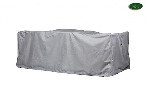 Gartenmöbel Schutzhülle  Abdeckung rechteckig - Premium LXL 250 x 150 x 94 cm wasserdichte Abdeckplane für Sitzgruppe  Oxford 600D Polyestergewebe  mit Ventilationsöffnungen  Rechteckig