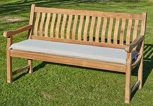 Bankpolster Destiny 150 cm  Sand  Kissen Auflage für Gartenbank Bank Polster