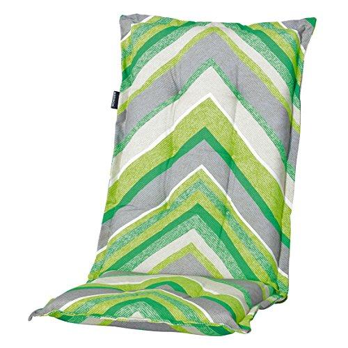 6 Hochlehner Auflagen 120 x 50 x 6 cm Madison Jenna green grün Gartenpolster