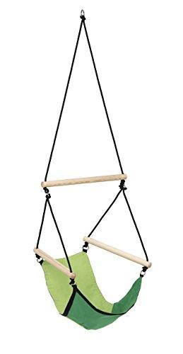 AMAZONAS Kinder Hängesessel Kid's Swinger Green 3 - 6 Jahre bis 60kg