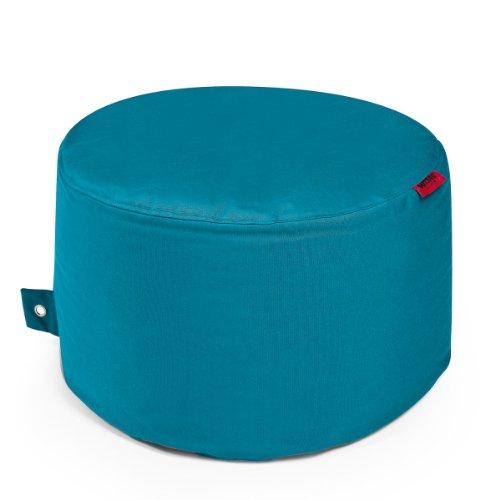 OUTBAG Rock Sitzsack Hocker Tisch plus aqua blau