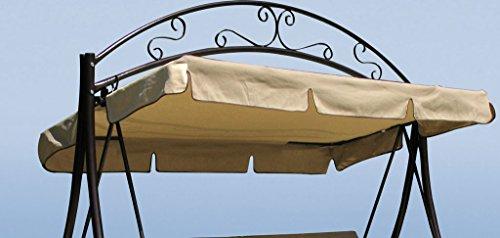 Grasekamp Ersatzdach Hollywoodschaukel Schaukel Nostalgie