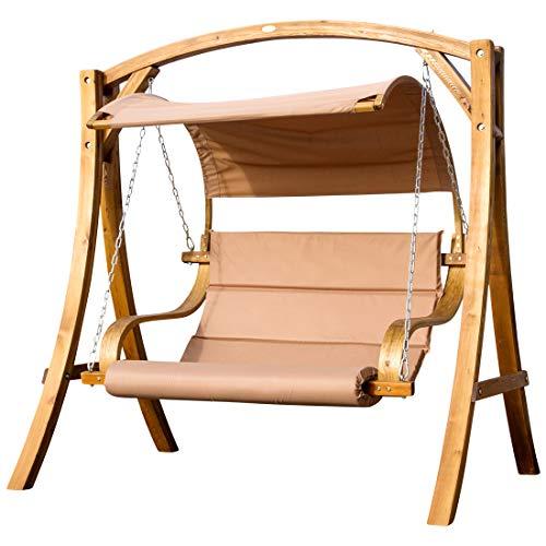ASS Design Hollywoodschaukel Antigua aus Holz Lärche von