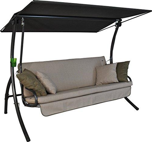 Angerer Drift Smart Hollywoodschaukel 3-Sitzer Design sand 210 x 145 x 160 cm 41102026921