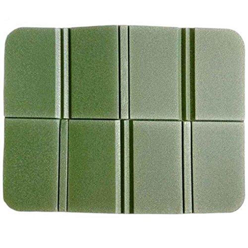 ELENXS Outdoor Eva-Matte tragbar faltbar wasserdicht Sitzkissen Kissen grün