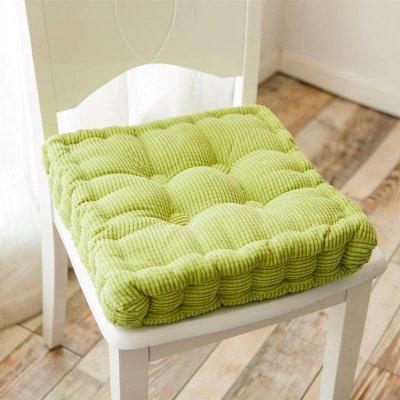 SKWEEFKDND Perfekte sitzkissenWeiche sitzkissen PadKissen indoor OutdoorKüche büro sitz polster stuhl kissen 2er-set-Grün 40x40cm16x16inch