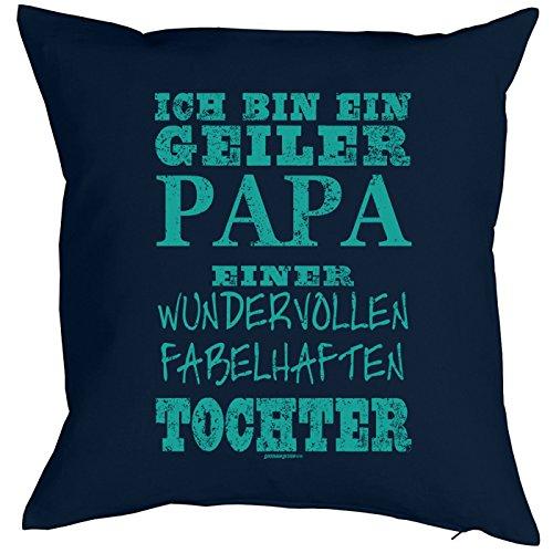 Goodman Design  Papa Kissen-Bezug  Papa Einer wundervollen Tochter  Kuscheliges zum Vatertag