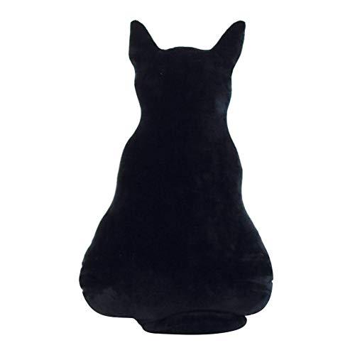 Schatten Katze Puppe geformte Sofa Dekokissen Tier Kissen Sofa Plüsch Spielzeug Dekoration
