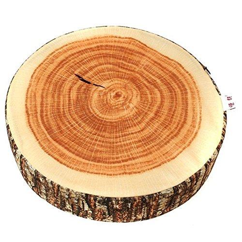 VWH Weicher Stuhlkissen Kissen Startseite Stuhl Dekorations mit Kreative Natur Holz Design