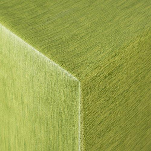 Tischdecke Wachstuch RUND ECKIG OVAL in verschiedenen Größen abwaschbar Meterware einfarbig Uni Wachstischdecke grün