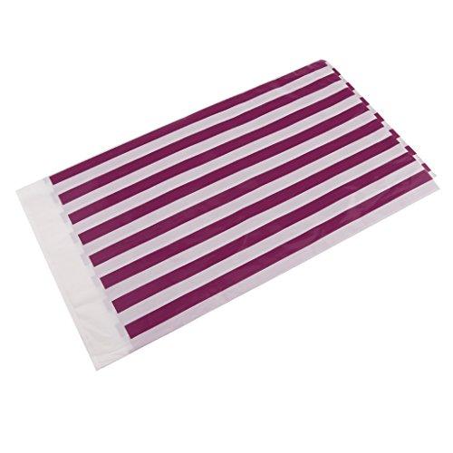 Homyl Plastik Tischdecke Streifen Muster - Lila