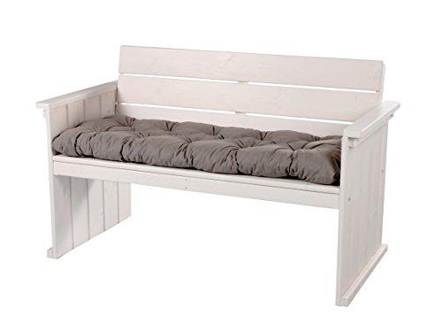 GARDENhome 2er Sofa Strandgut Europa Maxi ohne Sitzkissen Loungesofa Bank ca 130 cm