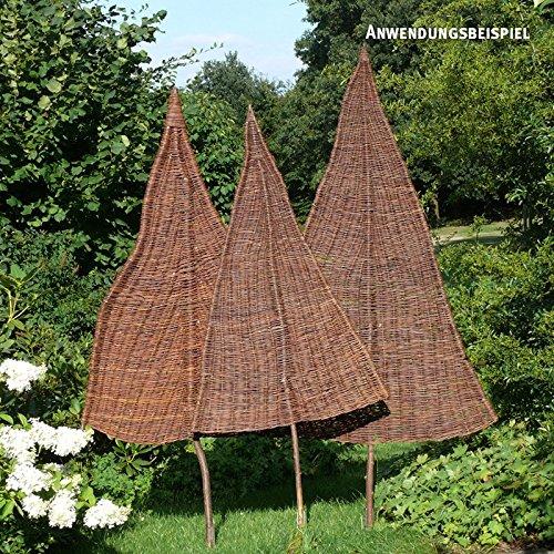 VIDEX-Sichtschutz-Weidenbaum Natur Mittel Ca B 80cm x H 220cm Davon 75cm Stamm