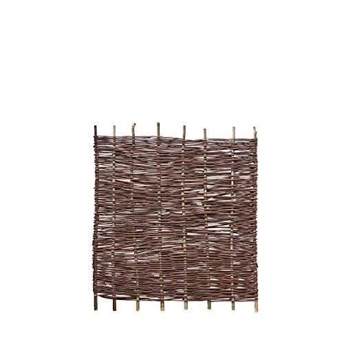 Weidenprofi Sonderposten Weidenzaun Sichtschutz aus Weide Modell Baldo-Natur BxH 100 x 120 cm