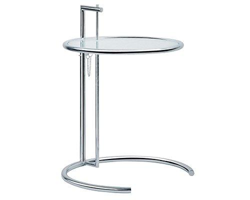 MOD Eileen Ende Tisch Beistelltisch höhenverstellbar Silber