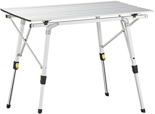 Uquip Variety M Aluminium Falttisch für 4 Personen Höhenverstellbar 89x53cm