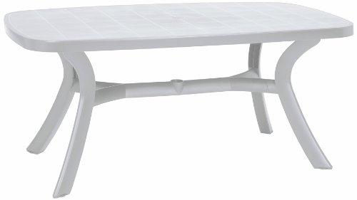 BEST 18519200 Tisch Kansas oval 192 x 105 cm weiß