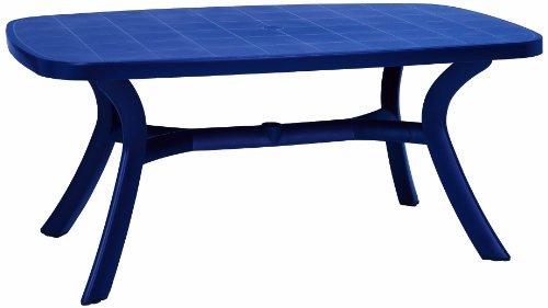 BEST 18519220 Tisch Kansas oval 192 x 105 cm blau