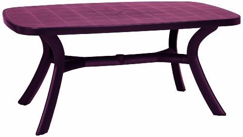 BEST 18519240 Tisch Kansas oval 192 x 105 cm bordeaux