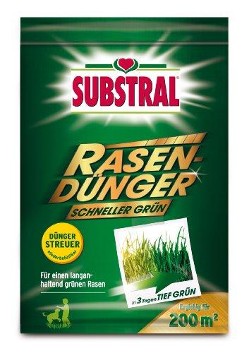 Substral  Rasendünger Schneller Grün 200 m² - 7 kg