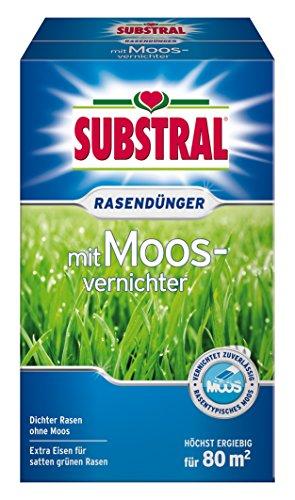 Substral Rasendünger mit Moosvernichter 28kg für 80m²