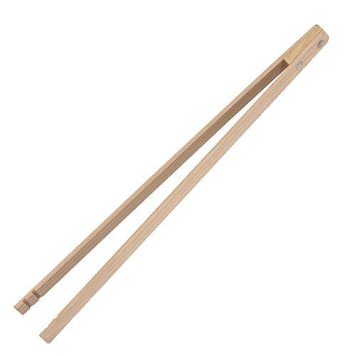 Bütic Profi Grillzange aus Holz Länge60cm lang