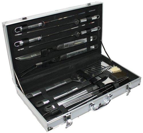 Grill Barbeque-Set im Koffer 10tlg