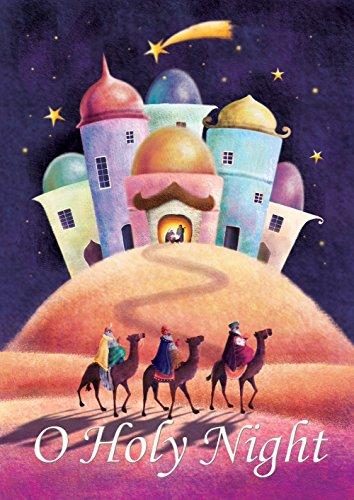 Toland Home Garden Holy Night Deko-Fahne für den Winter Weihnachten Glaube Krippe Religiöse Hausflagge 711 x 1016 cm