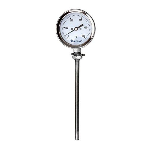 Lantelme WasserdichtRauchdicht 500 °C Grad BackofenOfenGrillTandurSmokerRäucher Thermometer Analog und Bimetall
