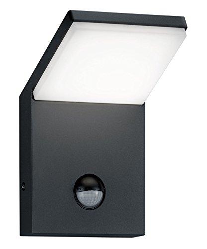 Trio Leuchten LED-Aussen-Wandleuchte Pearl Aluminiumguss anthrazit 221169142