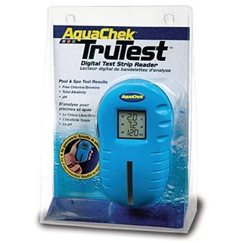 AquaChek Automatisches Pooltestgerät TruTest Chlor pH inkl 25 Teststreifen