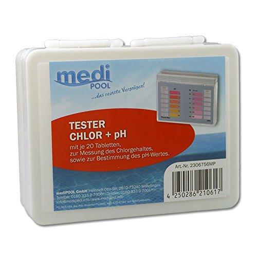 Medipool 2306756MP Chlor und pH Tester