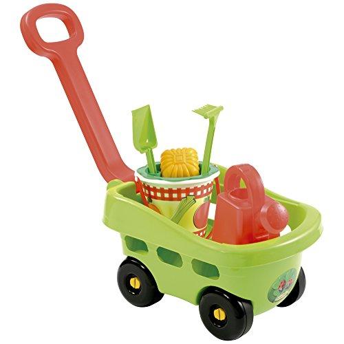 Ecoiffier 344 - Handwagen Garten mit Eimergarnitur