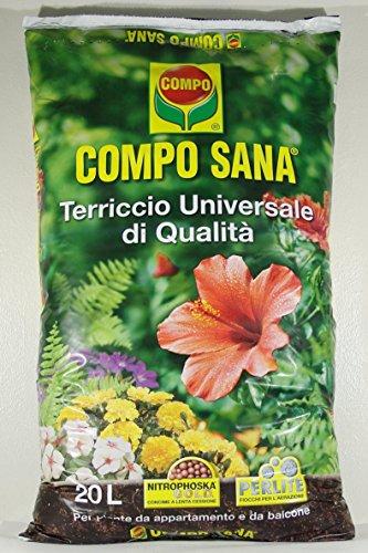 COMPO SANA Universelle Qualität des Bodens in einer Packung mit 50 LT