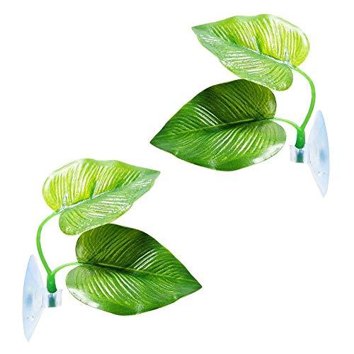 alian Aquarium Wasserpflanzen Künstliche Aquarium Pflanzen Fisch Blatt Pad Kunststoff Pflanzen Aquarium Aquariumpflanze Fisch Tank Dekoration