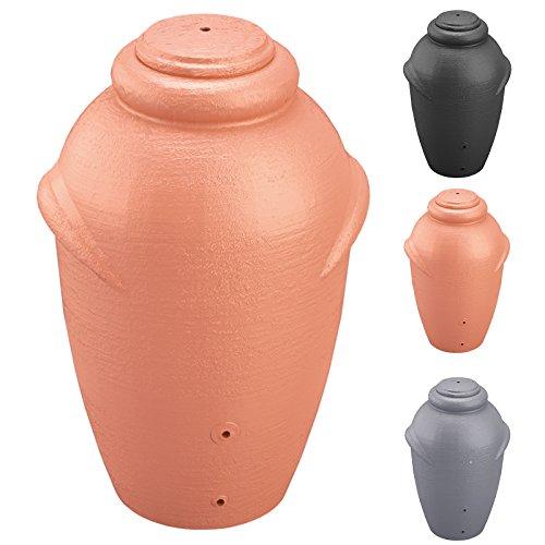 Regenwassertonne Regentonne Wassertank Regentank Amphore 360 Liter mit Deckel Terracotta