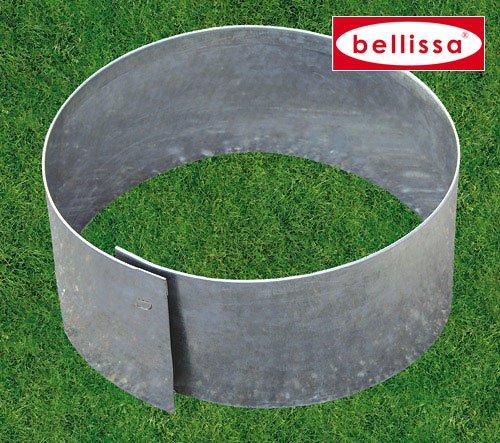 Gartenwelt Riegelsberger 2er Set Rasenkante Kreis Ø 30 x H 13 cm Beetumrandung Rasenbegrenzung Beeteinfassung