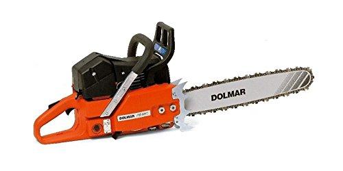 Dolmar PS9010-60 PS-9010 Benzin-Kettensäge 60cm 38 Black Orange Stainless Steel
