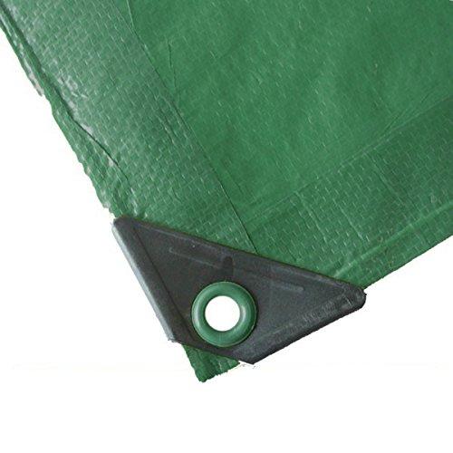 Abdeckplane 5x6m 90gm² grün